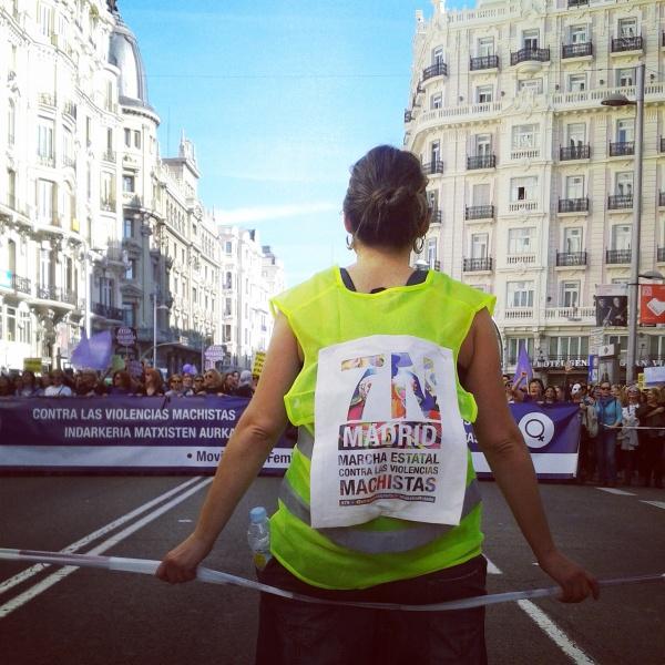 Marcha Estatal contra las violencias machistas. 7 de noviembre de 2015. Madrid.